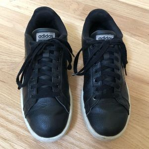 Adidas Black Cloudfoam Sneakers